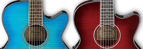 ブルー系とレッド系の色