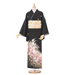ドレス感覚で着れるモダンな黒留袖