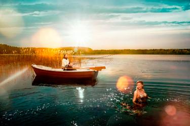 マズーリ湖水